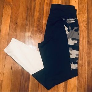 Black and White workout leggings